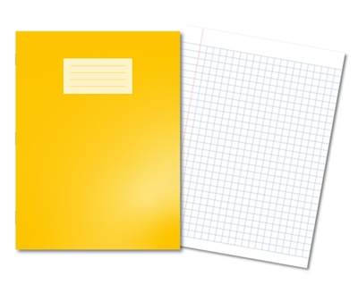 Picture of A4+ 10mm Squared Oxford Exercise Books