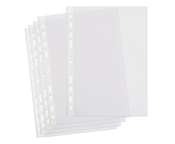 Picture of A4 Plastic Punched Pockets