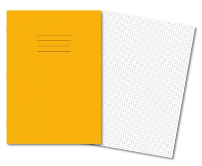 Picture of A4 5mm Squared Exercise Books