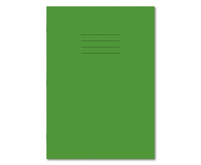 Picture of A4 8mm Ruled / Plain Alternate Exercise Books