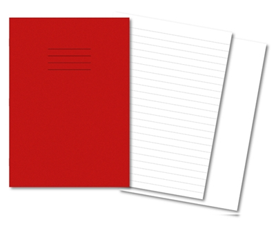 Picture of A4 12mm Ruled / Plain Alternate Exercise Books