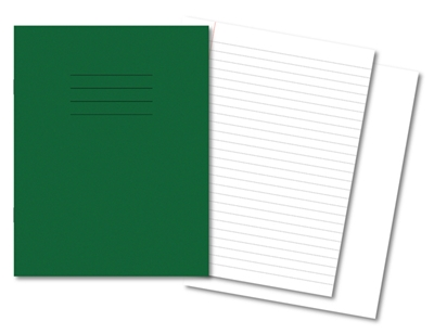 Picture of 9 x 7 8mm Ruled / Plain Alternate Exercise Books