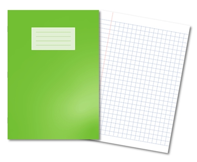 Picture of A4 10mm Squared Oxford Exercise Books