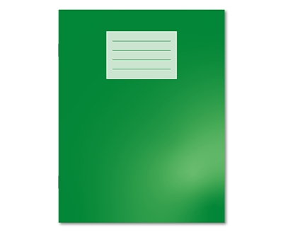 "Picture of 9"" x 7"" 8mm Ruled / Plain Alternate Oxford Exercise Books"
